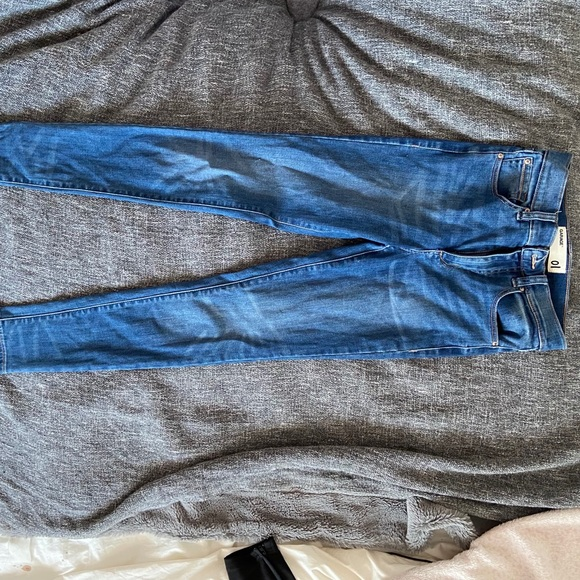 garage high waisted skinny jeans size 01